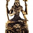 Stock Photo: Bronze shiva