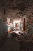 Inside an abandoned building — Stock Photo