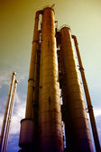 Power stations industry — Stock Photo