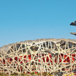 beijing national stadium - the bird's nest — Stock Photo