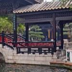 Baomo Garden is located in Zini Village, Shawan Town China — Stock Photo #10696029