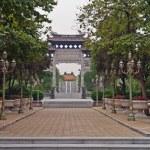 Baomo Garden is located in Zini Village, Shawan Town China — Stock Photo #10696049