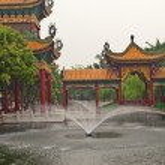 Baomo Garden is located in Zini Village, Shawan Town China — Stock Photo #10696115