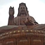 Постер, плакат: Statue of Kuan Yin on Xiqiao Mountain Foshan Guangdong China