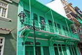 Budynki w makau chiny — Zdjęcie stockowe