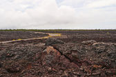 Chain of craters road in Big Island of Hawaii — Stock Photo