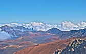 Haleakala Volcano and Crater Maui Island in Hawaii — Stock Photo
