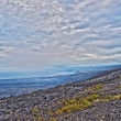 View from Chain of craters road in Big Island Hawaii — Stock Photo