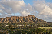 Diamond Head in Honolulu, Hawaii — Stock Photo