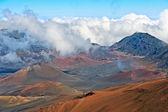 Haleakala Volcano and Crater Maui Hawaii — Stock Photo