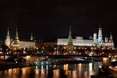 The Kremlin view at night. — Stock Photo