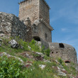 Stock Photo: Tower of fort Diosgyor