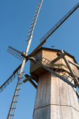 Old wooden windmill details — Stock Photo
