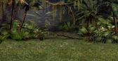 Jungle Scene — Stock Photo