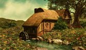 The Water Mill — Stock Photo