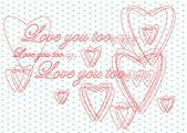 Love you too — Stock Photo