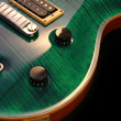 Electric guitar isolated - Stockfoto
