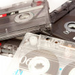 Stock Photo: Cassette background