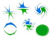 Wektor logo elementów — Zdjęcie stockowe