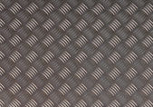 Detailled diamond plate metal texture — Stock Photo