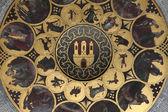 Antigo relógio de históricos de praga — Foto Stock