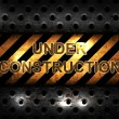 Under Construction background — Stock Photo #8321826
