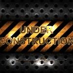 Under Construction background — Stock Photo