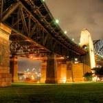 Sydney Harbour with Opera House and Bridge — Stock Photo #8855197