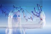 Forex trading — Stock Photo