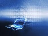 Laptop-Technologie — Stockfoto