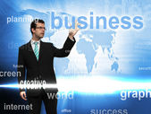 World Business Background — Stock Photo