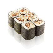 Japanese cuisine. Maki sushi. — Stock Photo