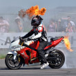 Stunt show - Stock Photo