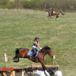 Rider eventing horse trial - Photo