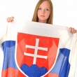 Sexy slovakian fan — Stock Photo #10428074