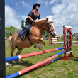 Show jumping — Stock Photo #10587444
