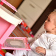 Baby playing — Stock Photo #10621548