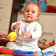 Baby playing — Stock Photo #10621644