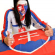 Slovakian fan - Photo