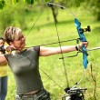 Bow hunting — Stock Photo #10723771