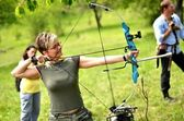 Bow hunting — Stock Photo