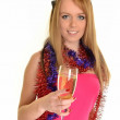 Party girl — Stock Photo #8350842