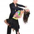 Ballroom dancer - Stock Photo