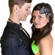 Ballroom dancer — Stock Photo