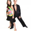 Stock Photo: Ballroom dancer