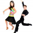 Ballroom dancer — Stock Photo #8408519