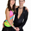 Latin dance — Stock Photo
