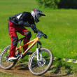 Downhill competition — ストック写真