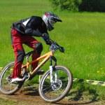 Downhill-Wettbewerb — Stockfoto #8489554