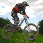 Downhill-Wettbewerb — Stockfoto #8489857